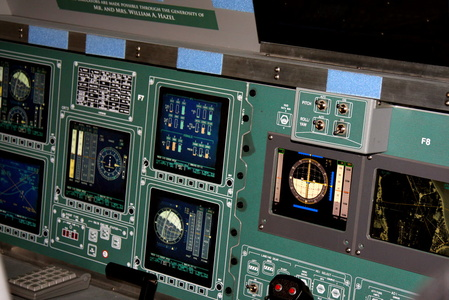 Space Shuttle Cockpit Simulator