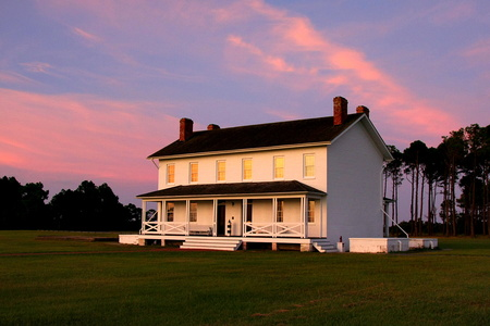 Historic Home at Sunrise