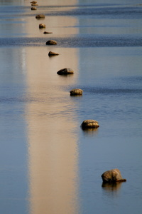 Stones and Reflection