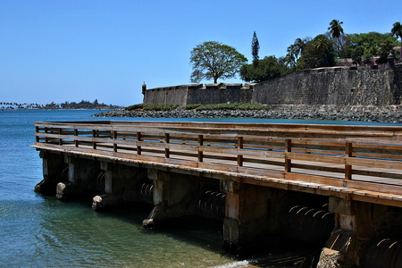 Pier and City Walls