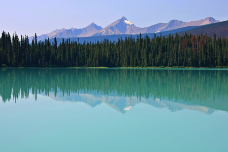 Emerald Lake Reflection #6