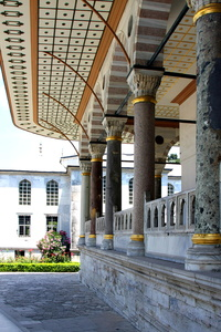 Topkapi Palace Pillars