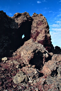 Lava Flow With Porthole
