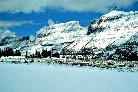 The Garden Wall from Logan Pass