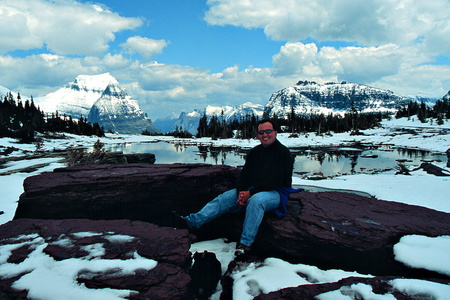 Steve Above Logan Pass