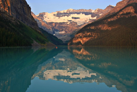Lake Louise Reflection #2