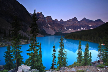 Moraine Lake at Dawn #3