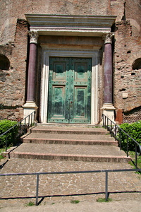 Bronze Entry Door for Temple of Divus Romulus