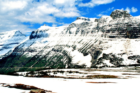 The Garden Wall from Logan Pass #2