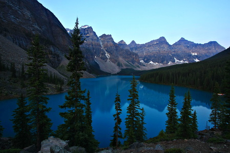 Moraine Lake at Dawn #2