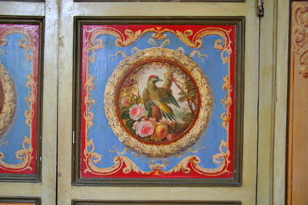 Lacquered Armoire with a Bird