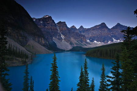 Moraine Lake at Dawn #4