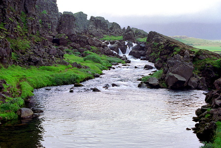 Thingvellir Cascade