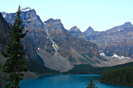 Moraine Lake at Dawn #5