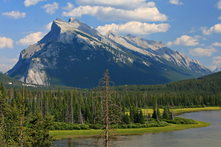 Mount Rundle & Vermillion Lakes