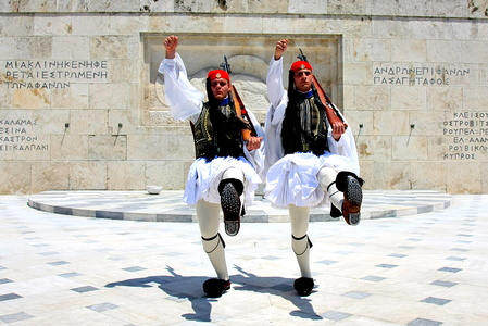 Greek Soldiers