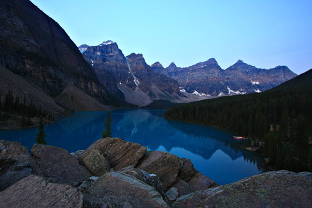 Moraine Lake and Rockpile #2