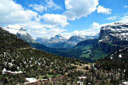St. Mary Valley from Logan Pass #2