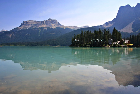 Emerald Lake Reflection #9