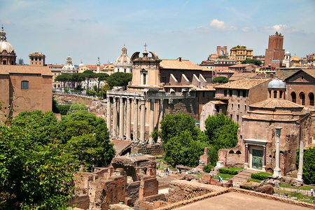 View of the Forum from the Palatine