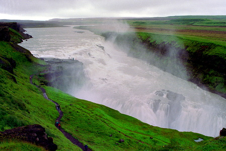 Gulfoss from Above