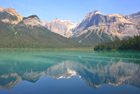 Emerald Lake Reflection #5