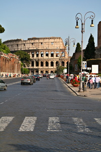 Colosseum in Traffic