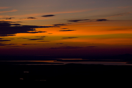 Sunset from Cadillac Mountain #3