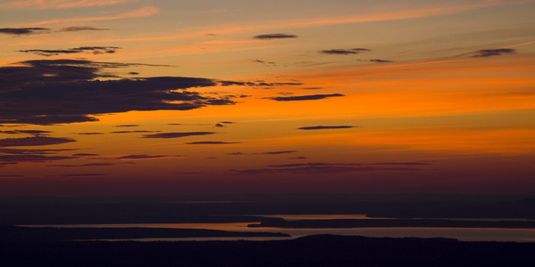 Sunset from Cadillac Mountain #2