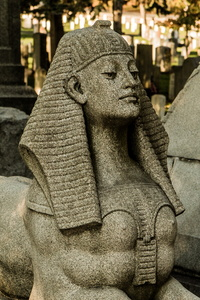 Sphinx at Viele's Tomb