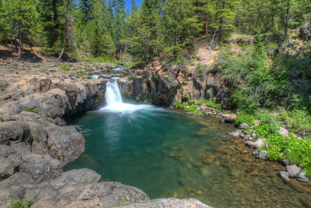 Lower McCloud Falls Wide