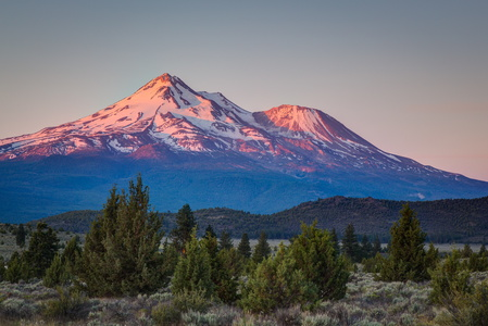 Mt Shasta at Sunrise #2