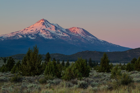 Mt. Shasta at Sunrise