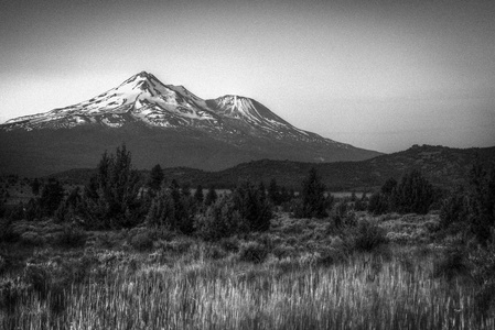 Mt. Shasta at Sunrise #2