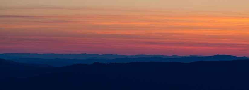 Sunset Over the Cascades #1
