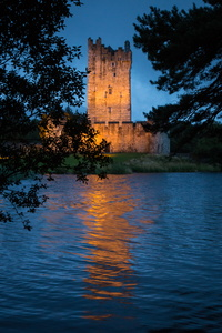 Ross Castle at Dusk