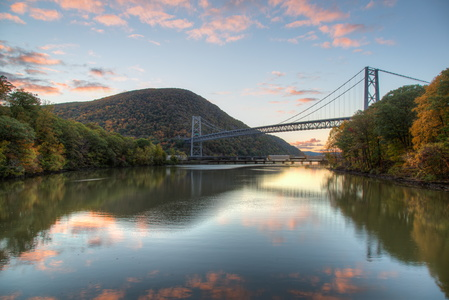 Bear Mountain Bridge at Sunrise