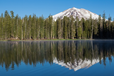 Summit Lake Reflection #2