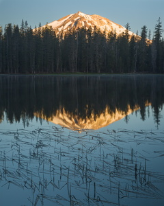 Sunrise on Lassen Peak