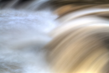 Swallow Falls Abstract