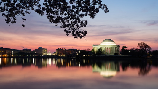 Dawn Over the Tidal Basin #2