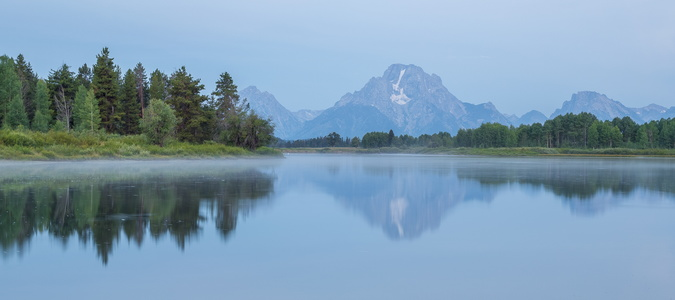 Blue Hour at Oxbow Bend #2
