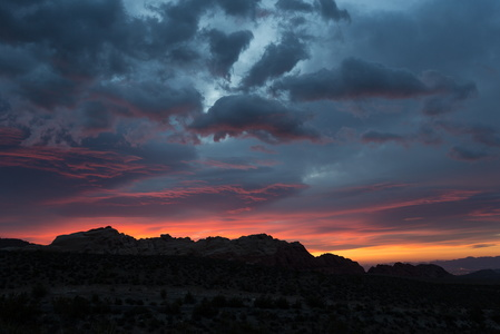 Red Rock Canyon Sunrise #1