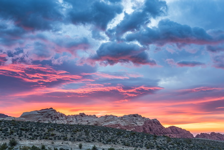 Red Rock Canyon Sunrise #2
