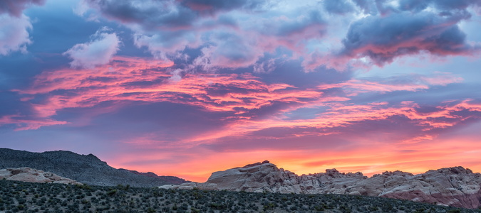 Red Rock Canyon Sunrise #3