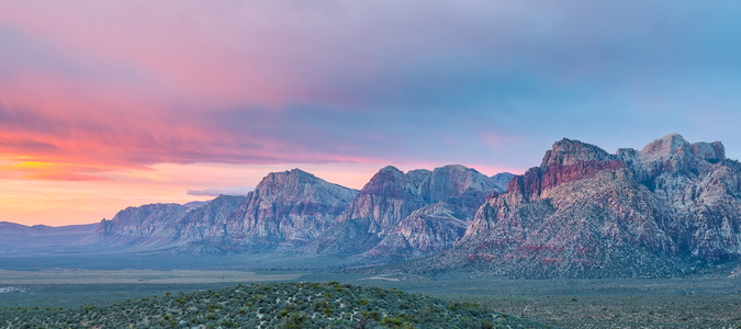 Red Rock Canyon Sunrise #4