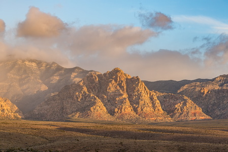 Red Rock Canyon Fog #2
