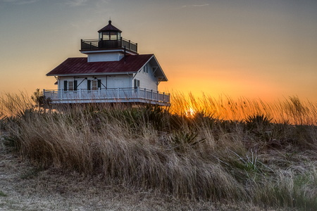 Lighthouse at Sunset #2