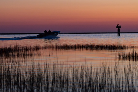 Oyster Boat at Sunrise #2