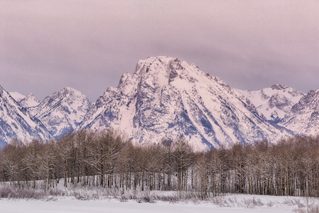 Sunrise at Oxbow Bend #2